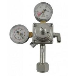 Riduttore di pressione Co2 ODL doppio manometro professionale
