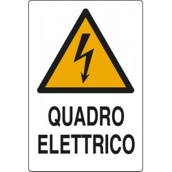 CARTELLO ALLUMINIO QUADRO ELETTRICO  MIS.300X200