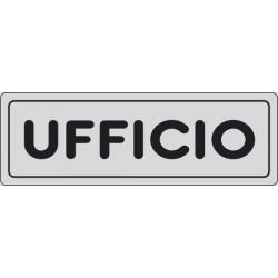 CARTELLO ADESIVO UFFICIO MIS. 165X50