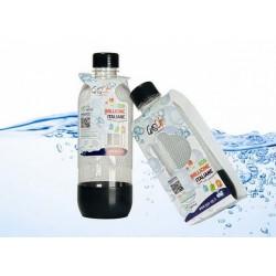 Bottiglia da 1 litro Gas Up white