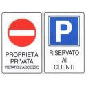 Cartelli Proprietà Privata