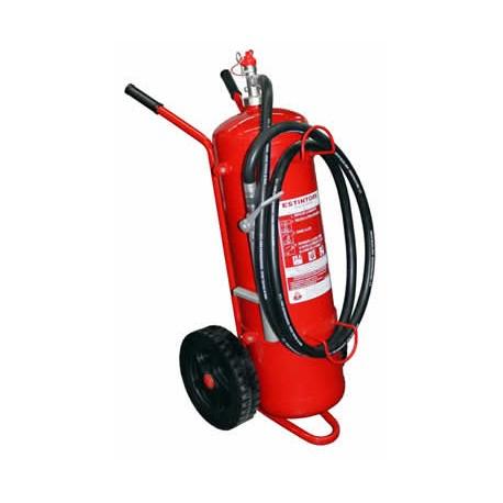 Estintore carrellato KG. 30 polvere classe di fuoco a- b1-c